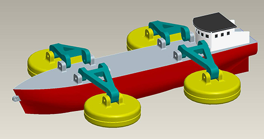 Mobile Wave Energy Harvesting
