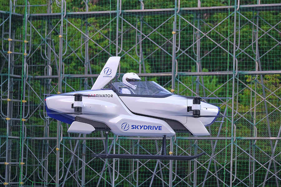 Japan's-flying-car